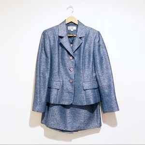Le Suit blazer with skirt